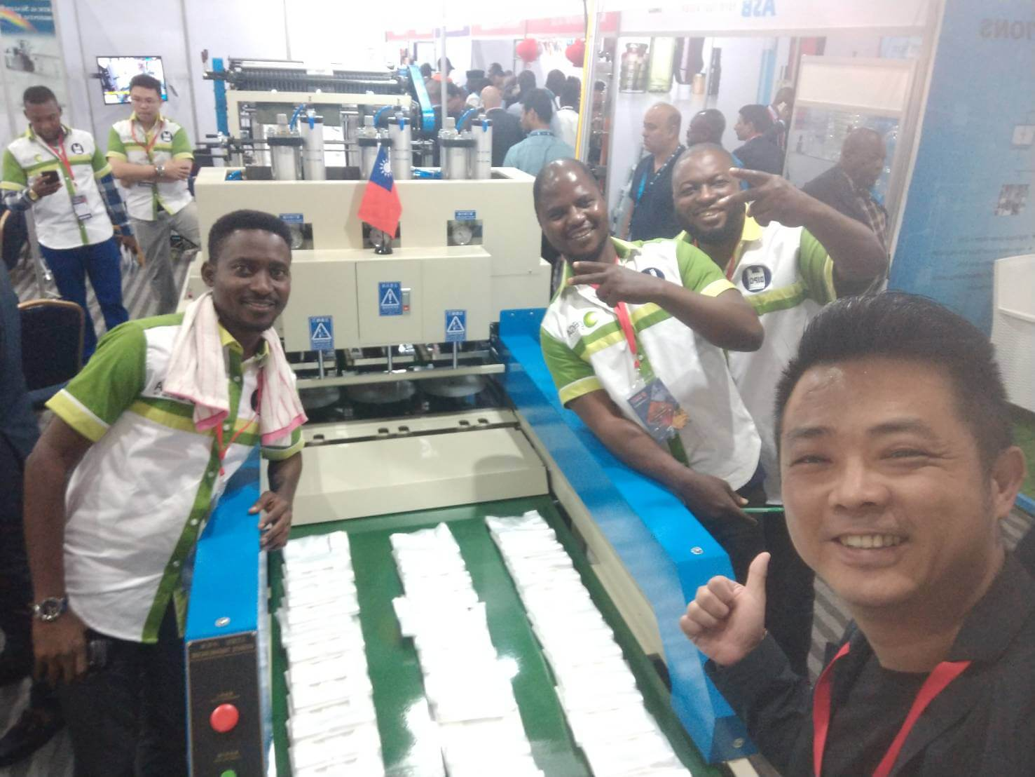 DIPO Plastic Machine Co., Ltd.2019 L'EXPOSITION DE PROPAK À Nigeria