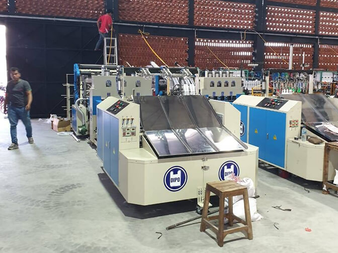 Dipo Plastic Machinery Fully Automatic Glove Bag Making Machine Features