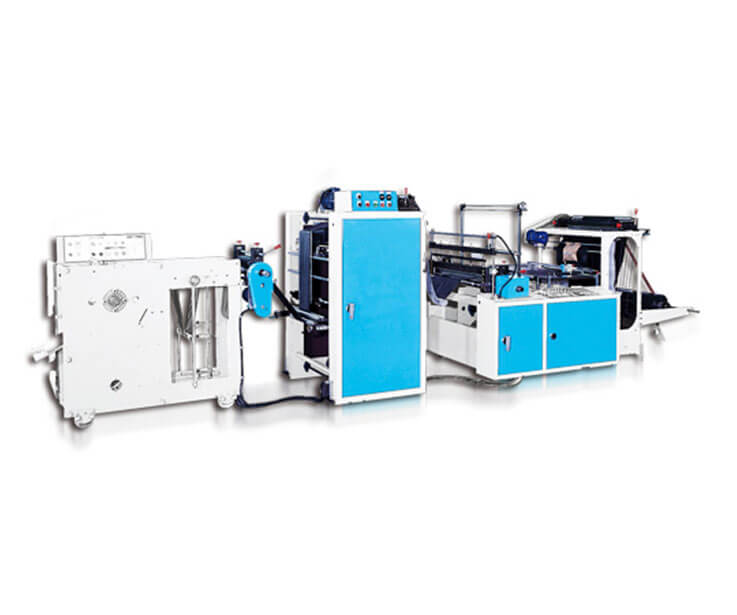 Automatic C-Fold Perforated Bag Making Machine (Coreless)