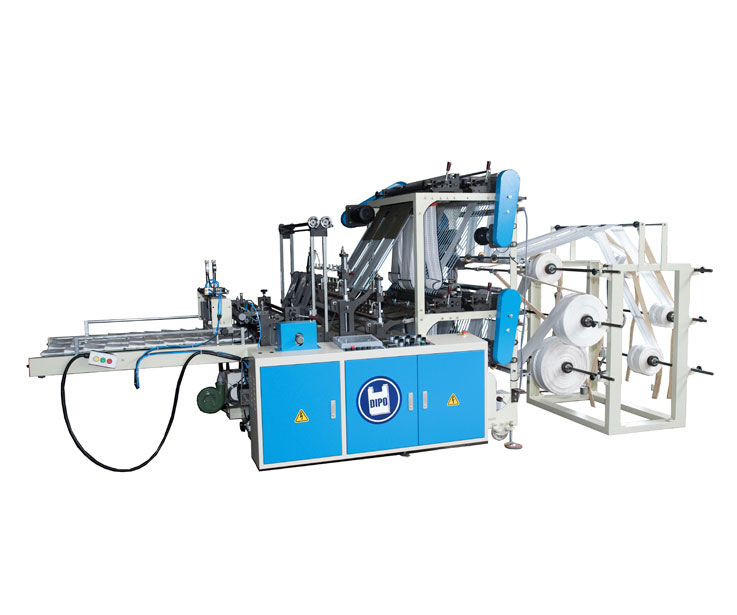Double Layer Bottom Sealing / T-shirt Bag Making Machine