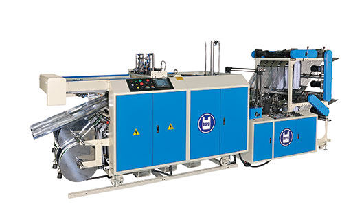 Flat Bag Making Machine+Auto Packing Machine All In 1 System