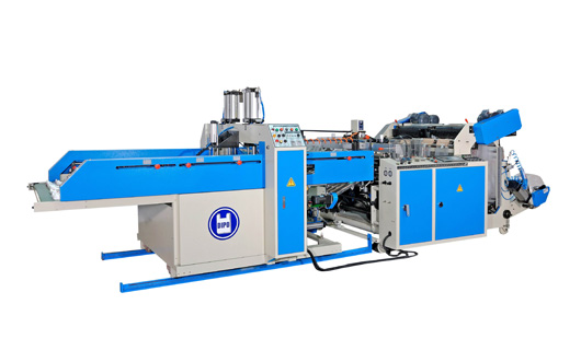 Automatic High Speed 4-Line T-Shirt Bag Making Machine