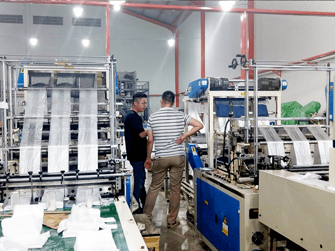 Make a special trip to Indonesian plastic factory to understand customer's needs and problems.