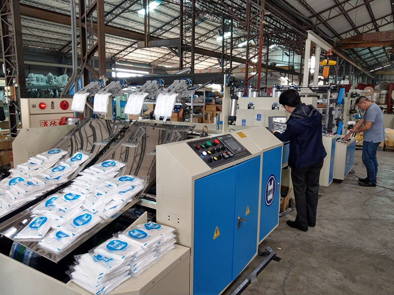 Dipo Plastic Machinery Co., LTD-Customized bag making machine design to Japan Customer​