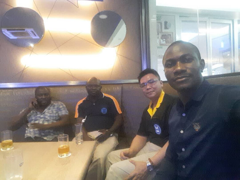 Professional Service Team to Africa of Dipo Plastic Machinery Co., LTD​