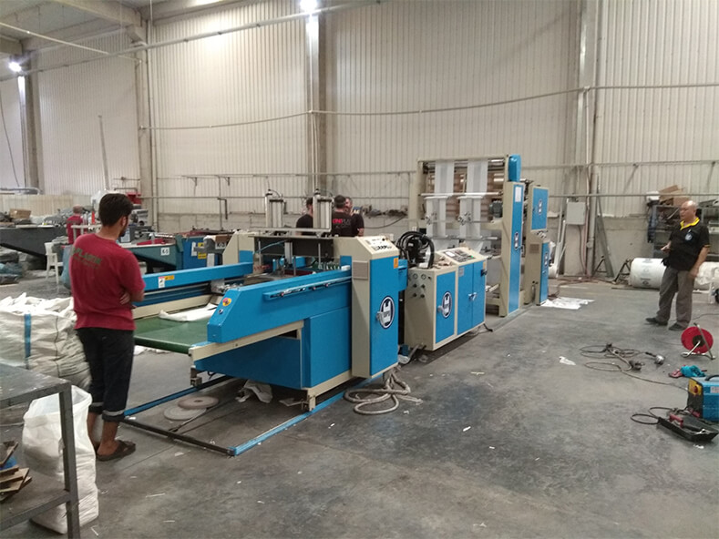 Acknowledgment to middle east customers, purchasing DIPO machinery.