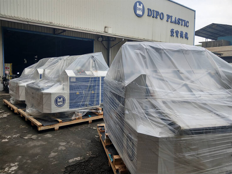 Thailand Top 100 Enterprise Plastic Bag Factory Continue to increase Dipo Plastic Machinery Automatic Packaging Machine.