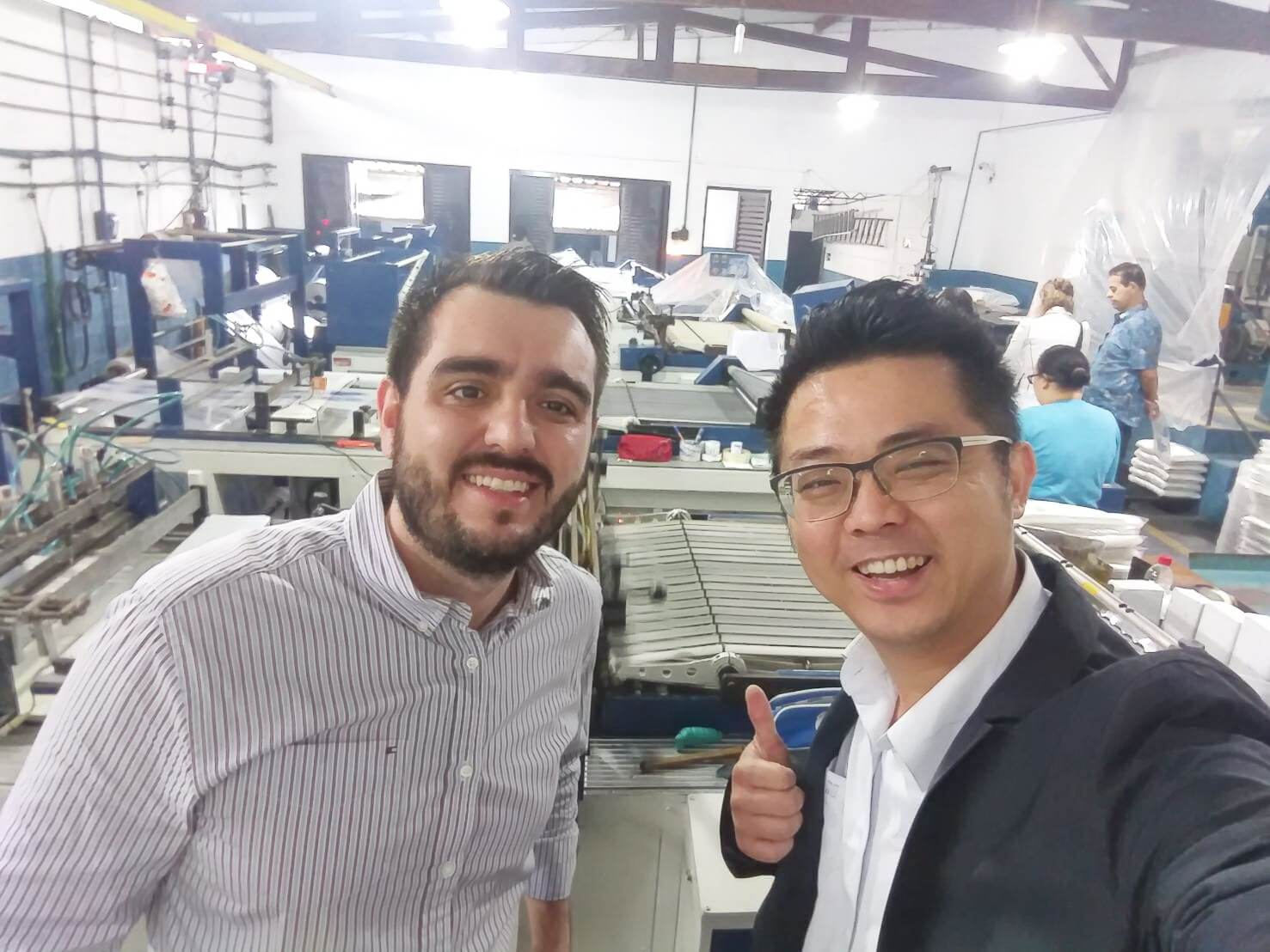 Central and South America - Updating their factory to become fully automated