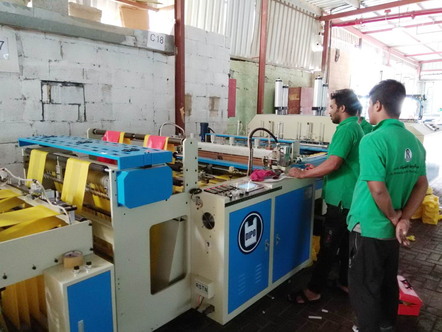 Our bag making machines are in great demand in Saudi Arabia.