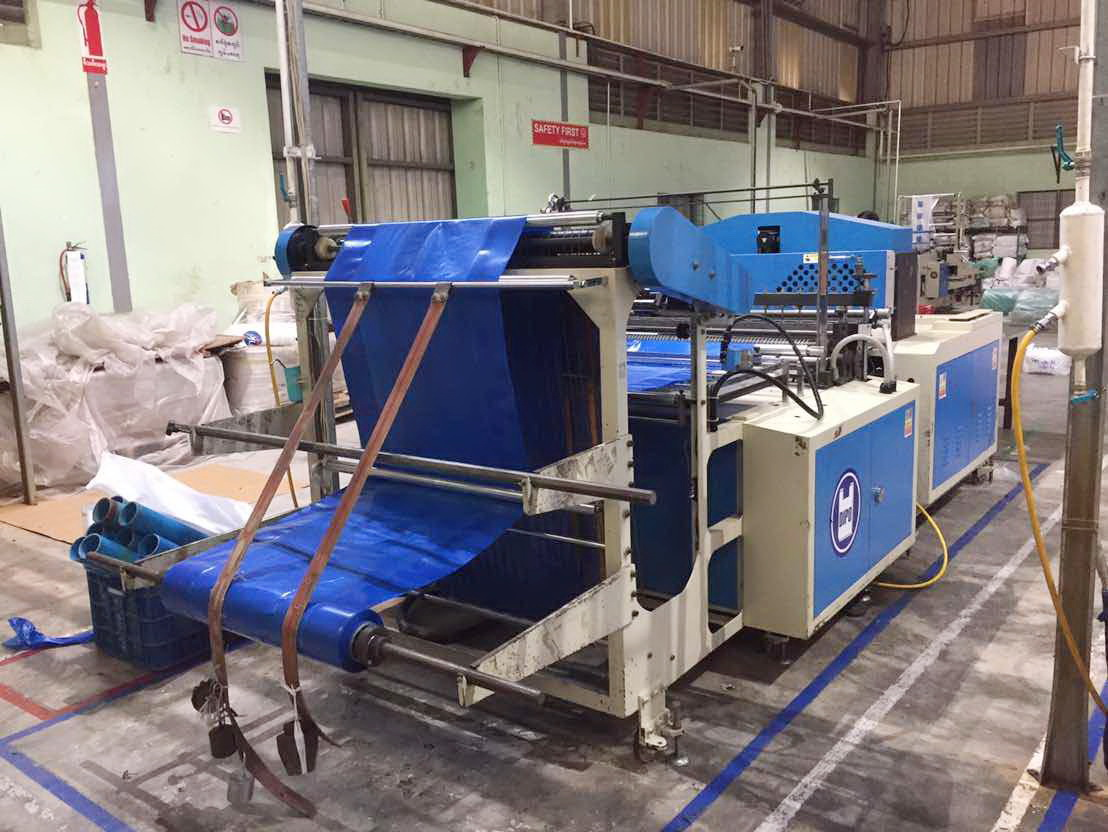 Our Bag making machines are in great demand in Myanmar